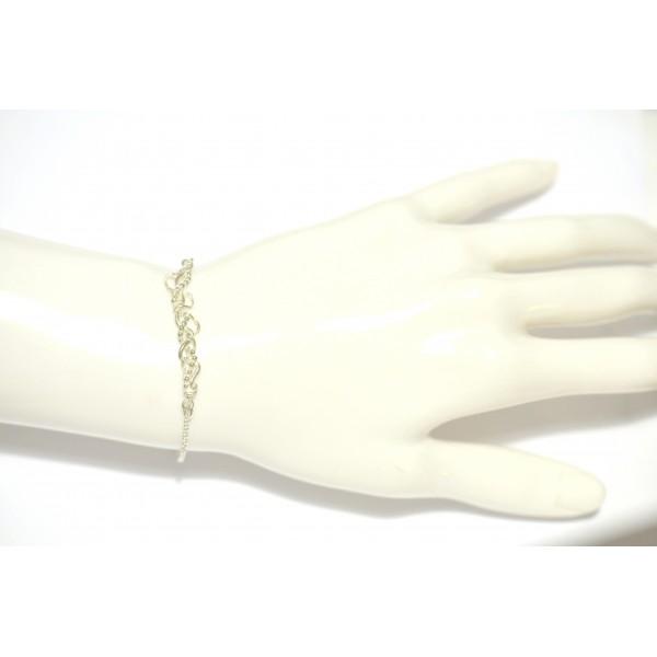 Volubilis verstellbarer Armband. Vergoldete Bronze. Volubilis 52,00€