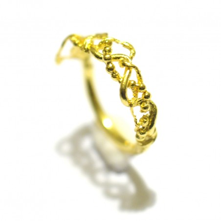 Volubilis vergoldeter Bronze Ring. Letzte Stücke ! Volubilis 55,00€