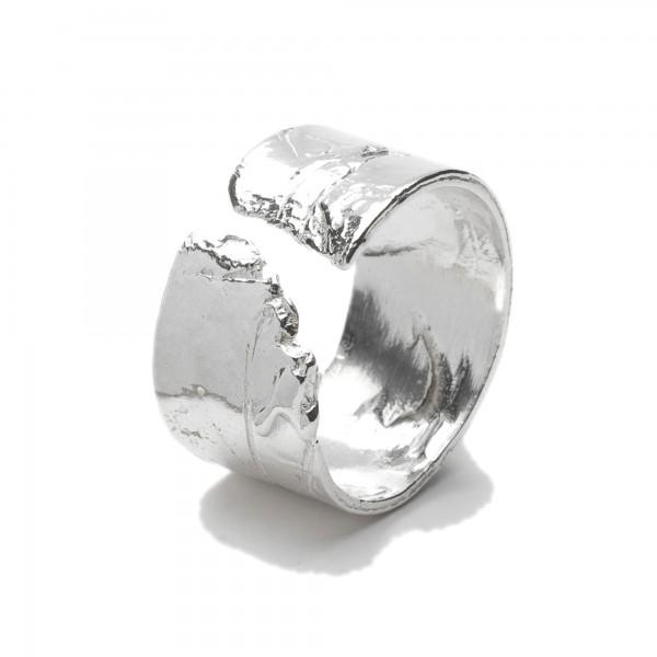 Bague anneau réglable Petite Fleur des Prés en argent massif 925/1000 Petite Fleur des Pres 69,00€