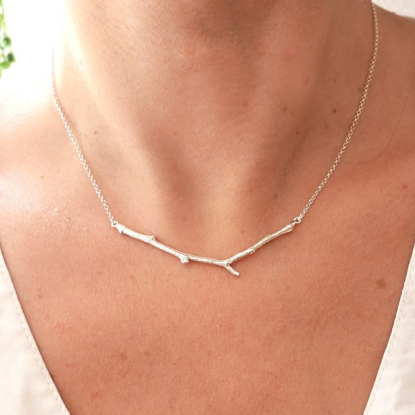 Collier branche en argent massif de la collection Eda Desiree Schmidt Paris Eda 77,00 €