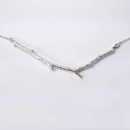Zweig Halskette aus Sterling Silber  Eda 77,00€