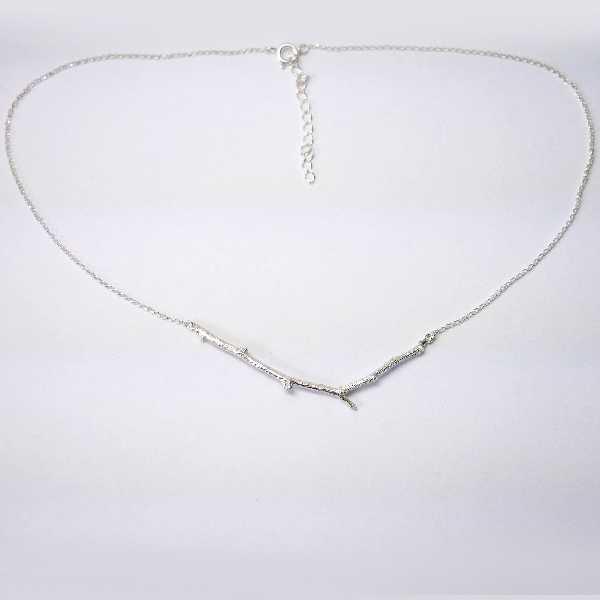 Branch sterling silver necklace Desiree Schmidt Paris Eda 77,00€