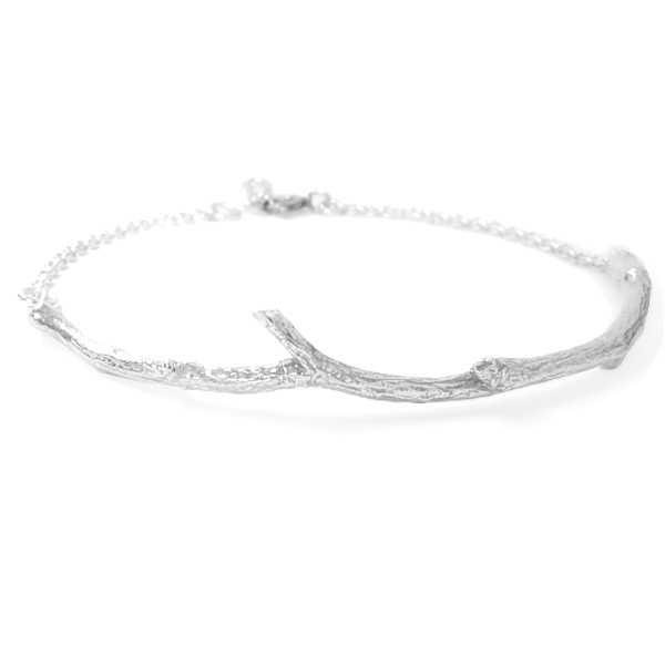 Bracelet branche semi-rigide en argent 925 de la collection Eda  Eda 75,00€