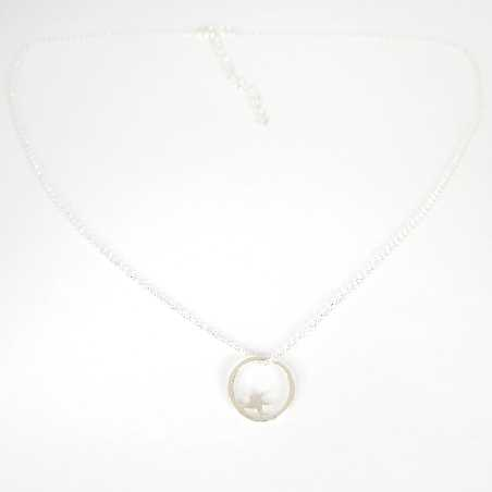Nova small ajustable necklace. Sterling silver.  Nova 37,00 €