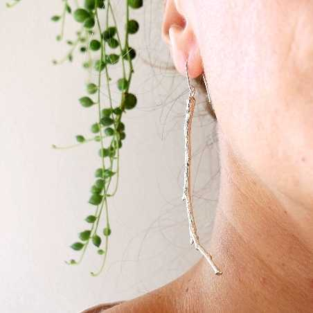 Branch sterling silver long earrings  Eda 97,00€