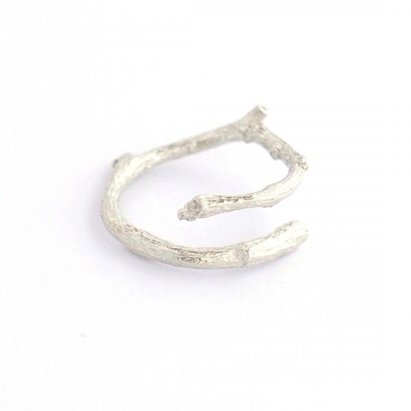 Zweig verstellbarer Ring aus Sterling Silber Eda 57,00€