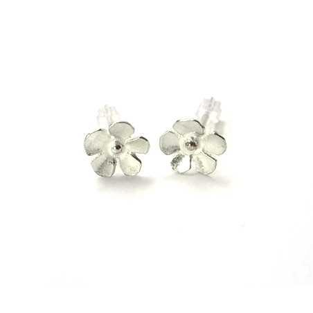 Sterling silver small flowers Sakura earrings  Sakura 37,00€