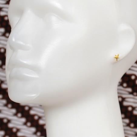 Little sterling silver star earrings Sati 32,00€