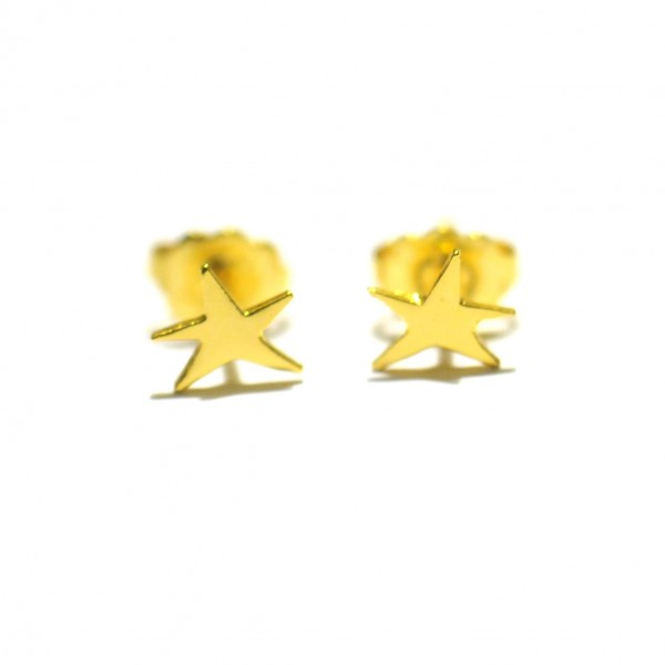 Little golded star earrings Sati 23,00 €