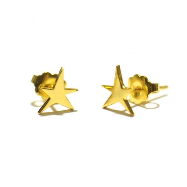 Little golded star earrings Sati 25,00 €