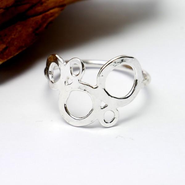 Sterling silver Awa bubble ring AWA 67,00€