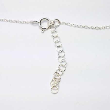 Petit collier en argent massif Litchi  Litchi 47,00€