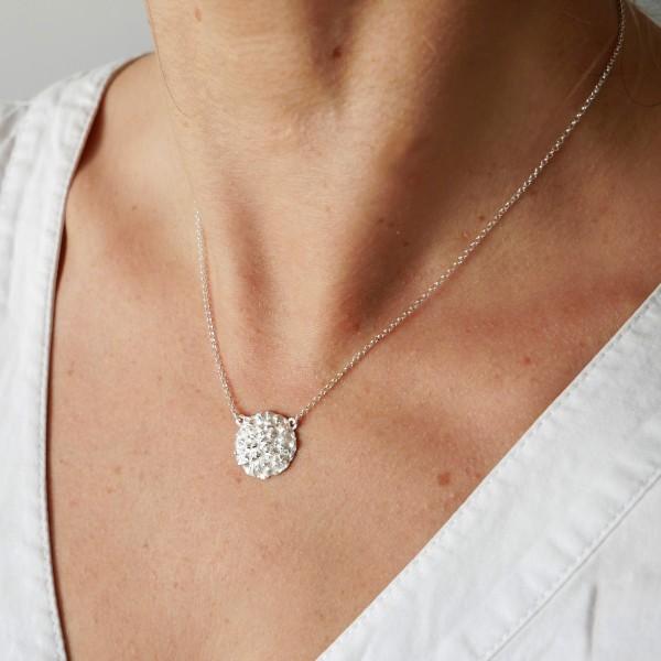 Schöne Litchi Sterlingsilber Halskette Desiree Schmidt Paris Litchi 67,00€