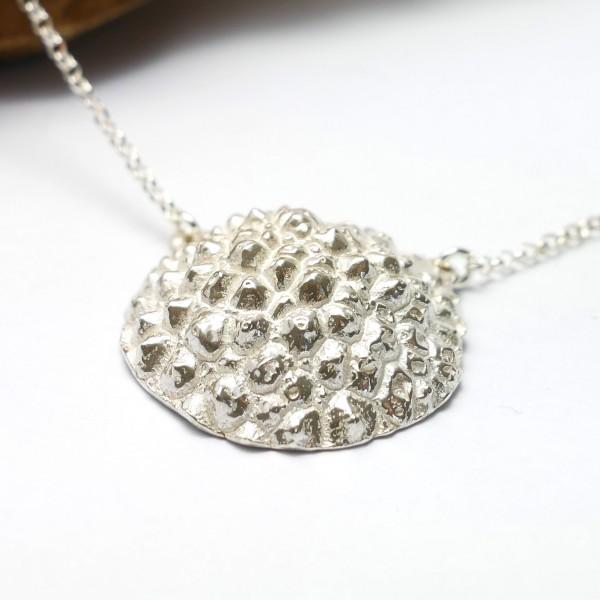Schöne Litchi Sterling Silber Halskette  Litchi 77,00€
