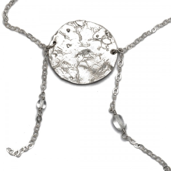 Sterling Silber Morgentau Halskette Desiree Schmidt Paris Rosee du Matin 127,00€