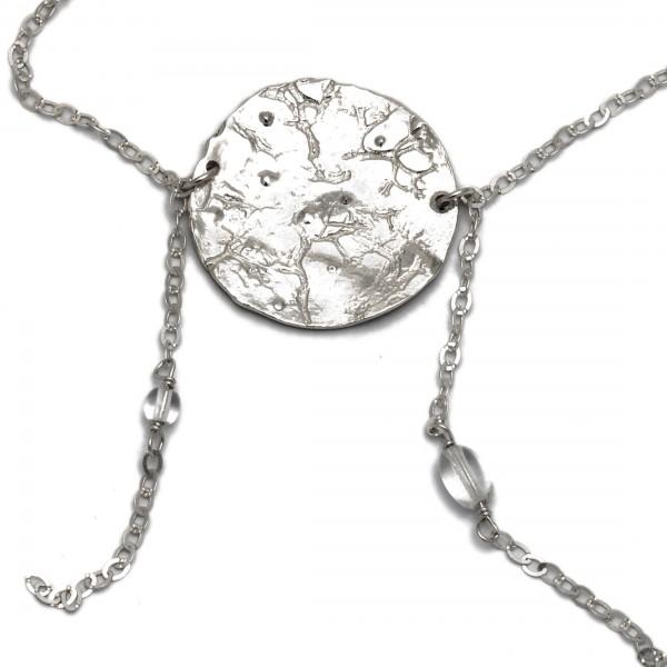 Sterling Silber Morgentau Kette  Rosee du Matin 127,00€