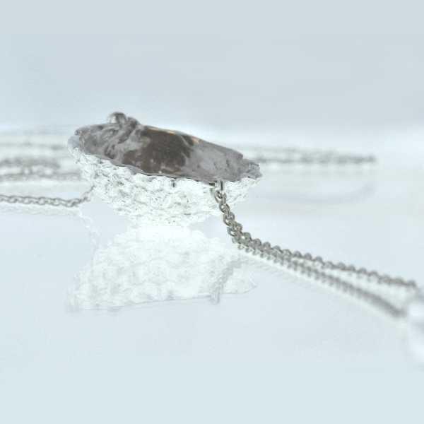 Litchi sterling silver long necklace Desiree Schmidt Paris Litchi 97,00€