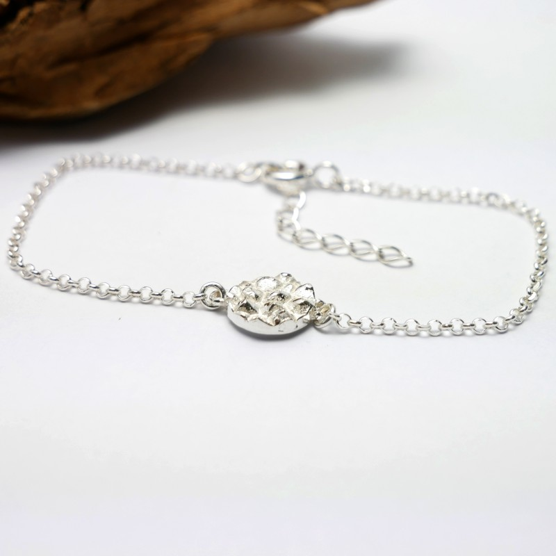 Small Litchi sterling silver adjustable bracelet Litchi 45,00 €