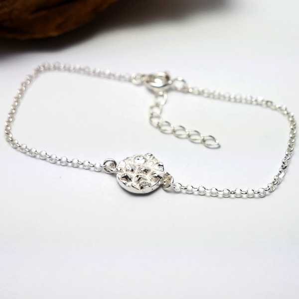 Morning Glories sterling silver necklace Volubilis