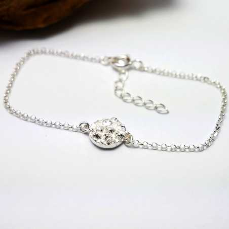 Morning Glories sterling silver necklace