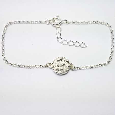 Small Litchi sterling silver adjustable bracelet Litchi 45,00€