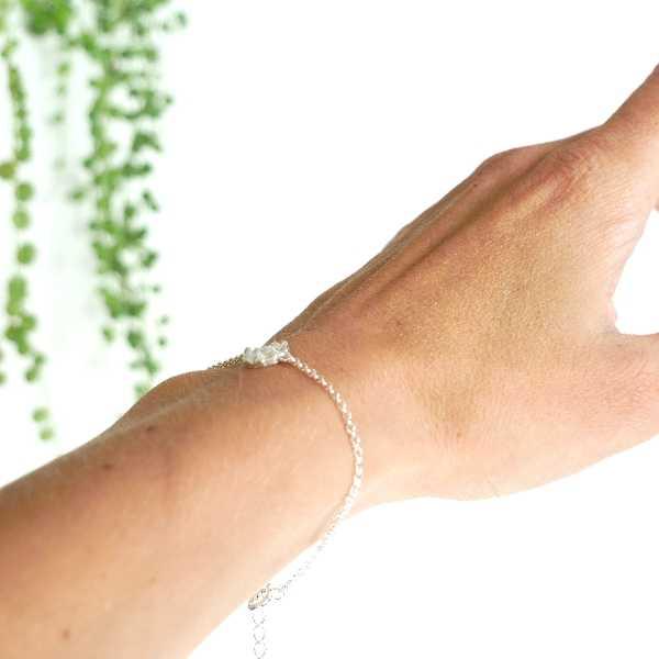 Petit bracelet Litchi en argent massif  Litchi 45,00€