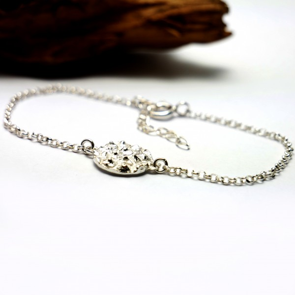 Litchi sterling silver adjustable bracelet  Litchi 55,00 €
