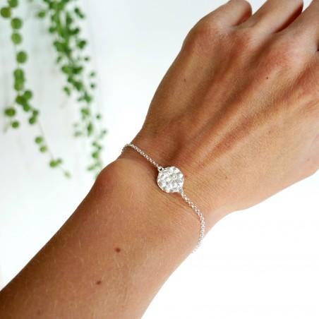 Litchi sterling silver adjustable bracelet Litchi 55,00€