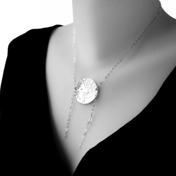 Sterling silver Morning Dew adjustable necklace  Morning Dew 127,00€