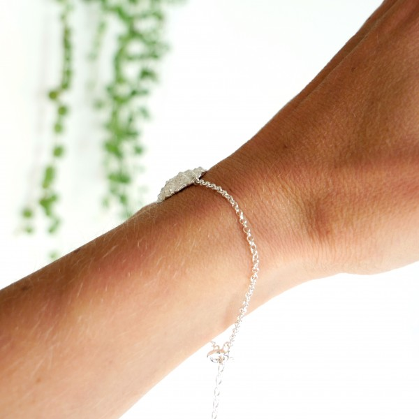 Nice Litchi sterling silver adjustable bracelet Litchi 65,00€